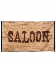 Vilda Västern saloonflagga 90x150 cm
