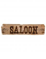Vilda Västern saloon-skylt 60 cm
