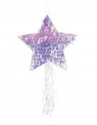 Regnbågsskimrande stjärnpiñata - Kalaskul