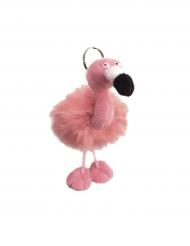 Flamingo - Nyckelring till festen 13 x 10 cm
