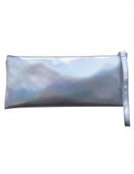 Regnbågsskimrande aftonväska- Maskeradtillbehör 25 cm