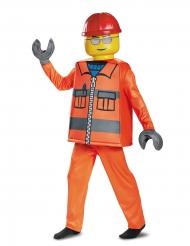 Byggarbetare från LEGO® - Lyxig maskeraddräkt för barn