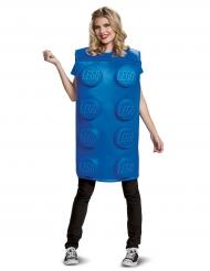 Blå Legokloss® - Maskeradkläder för vuxna
