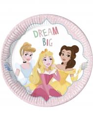 Dream big - 8 kartongtallrikar från Disney Princesses™