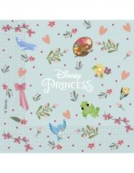 20 servetter från Princesses Disneys™ 33cm - Kalasdukning