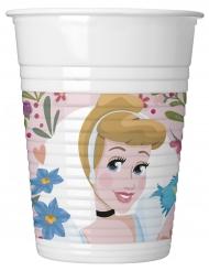 8 Muggar i plast från Disney Princesses™ - Kalasdukning 200ml