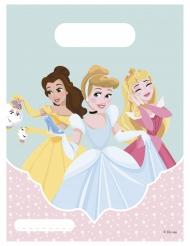 6 Kalaspåsar från Disney Princesses™ - Kalaskul 16,5 x 23 cm