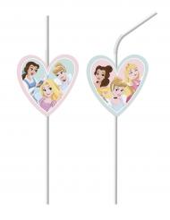 6 sugrör från Disney Princesses - Kalasdukning