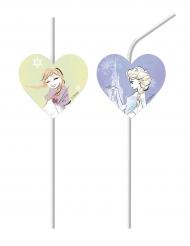 Frost™ - 6 sugrör med Elsa och Anna™