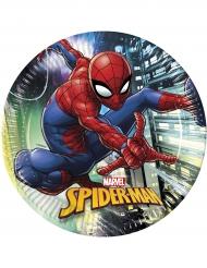 8 tallrikar från Spider-Man™ 23cm