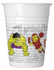 8 muggar från Avengers™ 200 ml