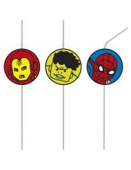 6 sugrör från Avengers™