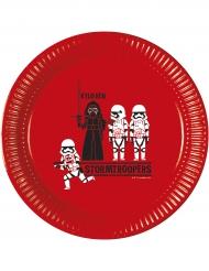 8 kartongtallrikar från Star Wars Forces™ 23 cm