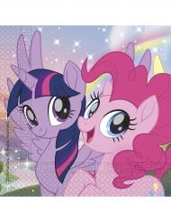 20 servetter från Pony & Friends™ - Kalasdukning 33 x 33 cm