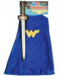 Wonder Woman ™ svärd och mantel barn