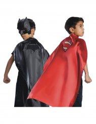 Batman & Superman från Justice League™ - Dubbelsidig mantel för barn