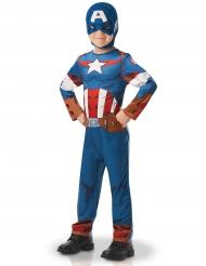 Captain America™ - Klassisk maskeradkostym för barn