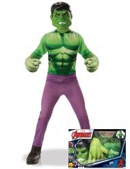 Hulken™ - Klassisk maskeraddräkt för barn i gåvobox