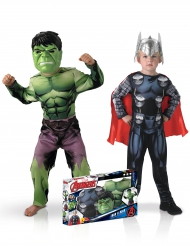 Klassiska Hulken och Thor™ - Duodräkt för barn till kalaset