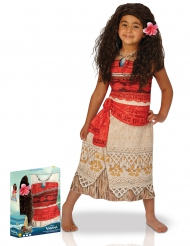 Vaiana™ - Klassisk maskeraddräkt med peruk i gåvobox för barn
