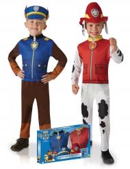 Chase & Marshall från Paw Patrol™ - Duo maskeradkläder för barn