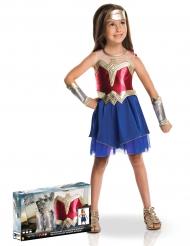 Wonder Woman™ - Lyxig maskeraddräkt i gåvobox för barn