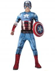 Captain America från Avengers™ - Lyxig maskeraddräkt för barn
