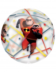 The Incredibles™ - Rund aluminiumballong 40 cm