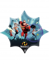 Incredibles 2 - Aluminiumballong från Disney™ 88 x 73 cm