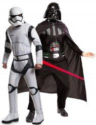 Star Wars™ Darth Vader & Stormtrooper pardräkt vuxen