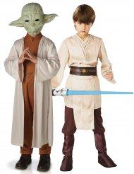Star Wars™ pardräkt Yoda och Jedi barn