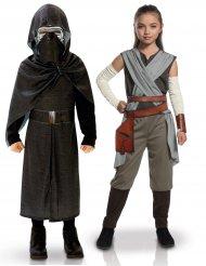 Star Wars™ Rey och Kylo Ren pardräkt barn