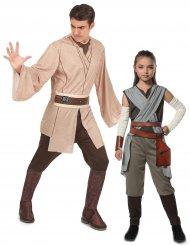 Star Wars™ Jedi med Rey pardräkt vuxen & barn