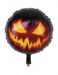 Läskig pumpa - Ballong till Halloweenfesten