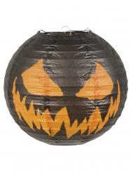 Papperslanterna som liknar pumpa 25 cm - Halloween pynt
