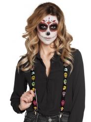 Hängslen till Dia de los Muertos - Halloweentillbehör