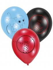 6 Ballonger från Ladybug™ - Kalasdekor