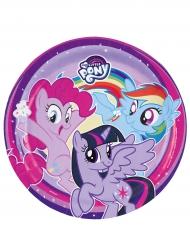 8 tallrikar från My Little Pony™ - Kalasdukning 23 cm