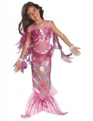 Rosa sjöjungfru med sjöhäst - Maskeradkläder för barn