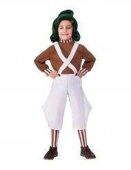 Oompa Loompa från Kalle och Chokladfabriken - Maskeradkläder för barn