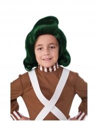Kalle och Chokladfabriken Oompa Loompa™ barnperuk