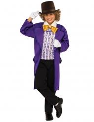 Willy Wonka från Kalle och chokladfabriken™ - Maskeraddräkt för barn
