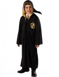 Hufflepuff elevkåpa från Harry Potter™ - Lyxig maskeraddräkt för barn