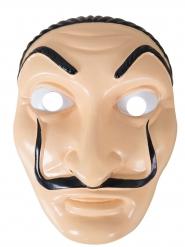 Rånarmask från tv-serie - Maskeradmask för vuxna
