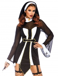 Sexig nunnedräkt dam