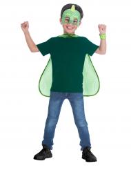Mask och mantel från Pyjamashjältarna™ - Maskeradtillbehör
