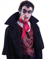 Genomskinlig vampyrmask till Halloween