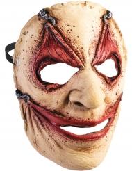 Utdragen hud - Halloweenmask för vuxna