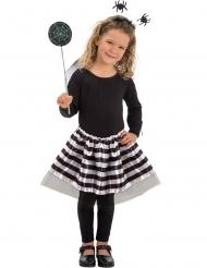 Spindeltjejen - Halloweenkläder för barn