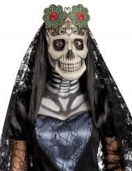 Dödligt leende - Maskeradmask till Dia de los Muertos